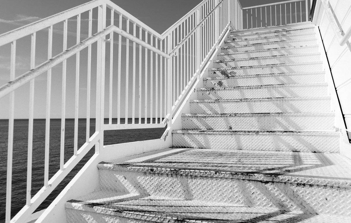 Treppenstufen nach oben